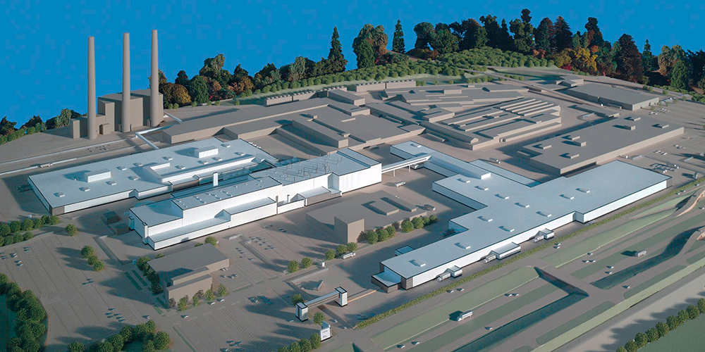 New Assembly Plant Site Plan