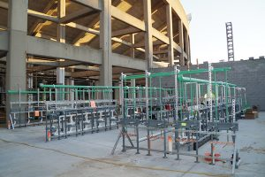 prefabrication msu spartan stadium