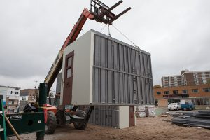 prefabrication muskegon county jail