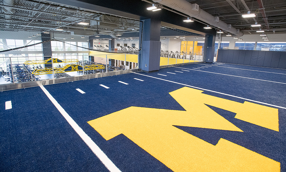 university of michigan stephen m  ross athletic campus athletics south competition and