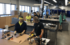 2018 WIST Apprenticeship Readiness Program Inaugural Graduation - Reduces Construction Labor Shortage - Hands on Training